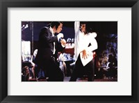Framed Pulp Fiction Dancing