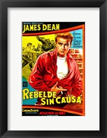 Framed Rebel Without a Cause Bright