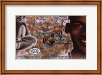 Framed Space Jam - Bugs and Michael
