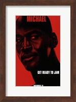 Framed Space Jam - Michael
