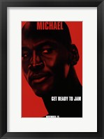 Framed Space Jam - Michael