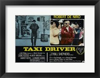 Framed Taxi Driver Robert De Niro