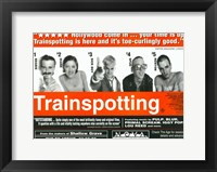 Framed Trainspotting - horizontal