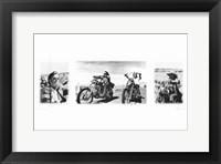 Framed Easy Rider (triptych)