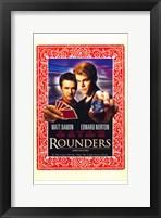 Framed Rounders - Cards
