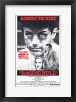 Framed Raging Bull De Niro