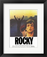 Framed Rocky Cast