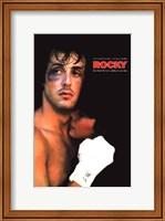 Framed Rocky Black Eye