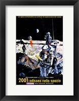 Framed 2001: A Space Odyssey Moon Landing