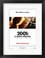 Framed 2001: A Space Odyssey the time is now.