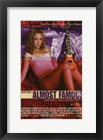 Framed Almost Famous