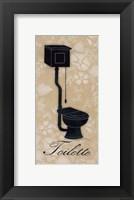 Framed Toilette