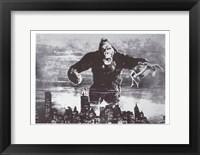 Framed King Kong Black and White Screenshot