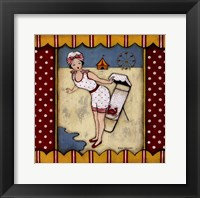 Framed Beach Follies I