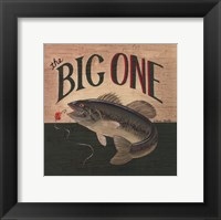 The Big One Framed Print