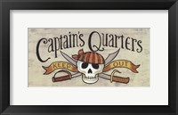 Framed Captain's Quarters