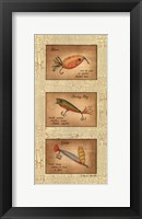 Framed Fishing Lures