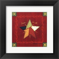 Peace to All Framed Print