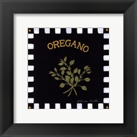 Framed Oregano
