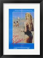 Framed Pauline at the Beach