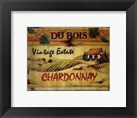 Chardonnay Framed Print