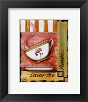 Savor the Flavor Framed Print