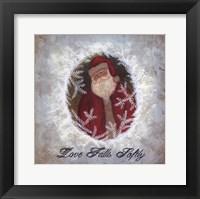 Framed Love Falls Softly