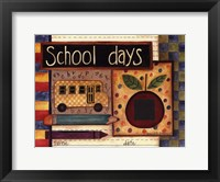 Framed School Days Photomat