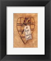 Framed Humble Heart