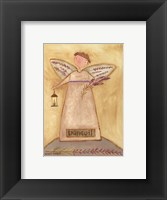 Framed Tranquil Angel