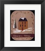 Framed Homespun Holidays