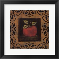 Framed Antique Apple