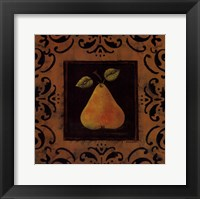 Framed Antique Pear
