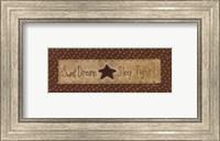 Framed Sweet Dreams - tan
