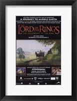 Framed Lord of the Rings: Fellowship of the Ring Motion Picture