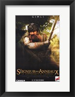 Framed Lord of the Rings: Fellowship of the Ring Gimli