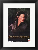 Framed Lord of the Rings: Fellowship of the Ring Arwen