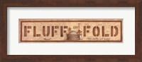 Framed Fluff and Fold