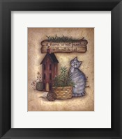Framed Purr-fect Home
