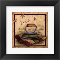Framed Iron