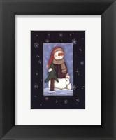 Framed Snow Love