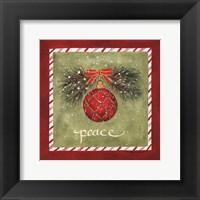 Framed Holiday Peace