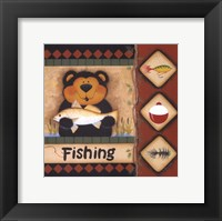 Framed Fishing