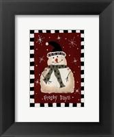 Framed Frosty Days