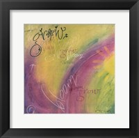 Grow Framed Print