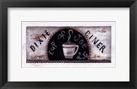 Framed Dixie Diner