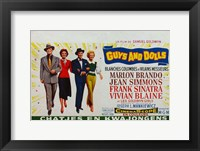 Framed Guys and Dolls (french)