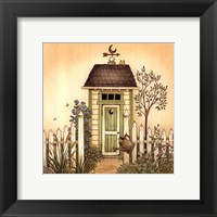 Framed Cottage Outhouse I