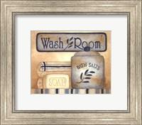 Framed Wash Room