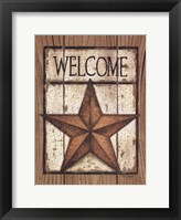 Framed Star Welcome